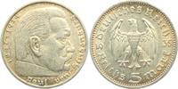 5 Reichsmark 1935 A Drittes Reich Paul von Hindenburg - ohne Hakenkreuz... 12,95 EUR  zzgl. 4,95 EUR Versand