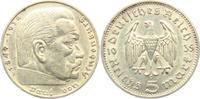 5 Reichsmark 1935 F Drittes Reich Paul von Hindenburg - ohne Hakenkreuz... 16,00 EUR  zzgl. 4,95 EUR Versand