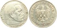5 Reichsmark 1935 F Drittes Reich Paul von Hindenburg - ohne Hakenkreuz... 13,00 EUR  zzgl. 4,95 EUR Versand