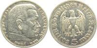 5 Reichsmark 1935 E Drittes Reich Paul von Hindenburg - ohne Hakenkreuz... 13,00 EUR  zzgl. 4,95 EUR Versand
