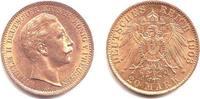 20 Mark 1908 A Preussen Kaiser Wilhelm II. vz  319,00 EUR  zzgl. 6,95 EUR Versand