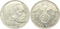 2 Reichsmark 1937 E Drittes Reich Paul von Hindenburg - mit Hakenkreuz ss  3,95 EUR  zzgl. 2,95 EUR Versand