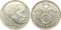 2 Reichsmark 1937 F Drittes Reich Paul von Hindenburg - mit Hakenkreuz ss  3,95 EUR  zzgl. 2,95 EUR Versand