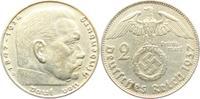 2 Reichsmark 1937 D Drittes Reich Paul von Hindenburg - mit Hakenkreuz ... 4,95 EUR  zzgl. 2,95 EUR Versand