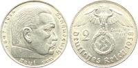 2 Reichsmark 1938 B Drittes Reich Paul von Hindenburg - mit Hakenkreuz ss  3,95 EUR  zzgl. 2,95 EUR Versand