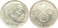 2 Reichsmark 1938 E Drittes Reich Paul von Hindenburg - mit Hakenkreuz ... 5,00 EUR  zzgl. 2,95 EUR Versand