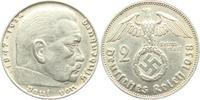2 Reichsmark 1938 J Drittes Reich Paul von Hindenburg - mit Hakenkreuz vz  9,00 EUR  zzgl. 2,95 EUR Versand