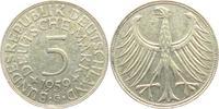 5 Mark 1959 G BRD Silberadler ss  9,00 EUR  zzgl. 2,95 EUR Versand