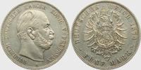 5 Mark J 97 Preussen Kaiser Wilhelm I. vz  198,00 EUR  zzgl. 6,95 EUR Versand