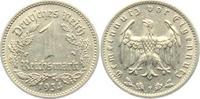 1 Reichsmark 1934 F Drittes Reich 1 Reichsmark vz  8,00 EUR  zzgl. 2,95 EUR Versand