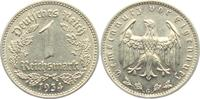 1 Reichsmark 1934 G Drittes Reich 1 Reichsmark vz-st  14,00 EUR  zzgl. 4,95 EUR Versand