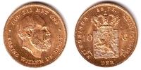 Niederlande 10 Gulden König Willem III.