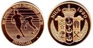 250 Dollar 1990 Niue Fußball-WM Italien 1990 - Spieler mit Ball PP  398,00 EUR  +  9,95 EUR shipping