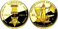 5 Dollar 2011 USA Goldmünze - Tapferkeitsmedaille PP Original-Box + Zer... 498,00 EUR  +  9,95 EUR shipping