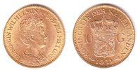 Niederlande 10 Gulden Königin Wilhelmina
