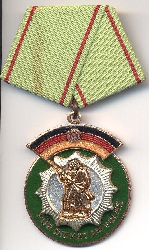 Ehrenzeichen der Deutschen Volkspolizei Ddr 1971/90