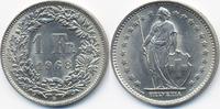 Schweiz - Switzerland 1 Franken Eidgenossenschaft