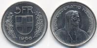 Schweiz - Switzerland 5 Franken Eidgenossenschaft