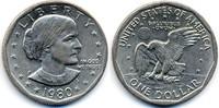 1 Dollar 1980 P USA - USA Susan B. Anthony vorzüglich  2,50 EUR