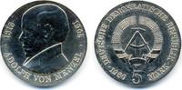 5 Mark 1980 DDR Adolph von Menzel - Kupfer/Nickel prägefrisch - minimal... 23,00 EUR
