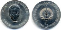 5 Mark 1990 DDR Kurt Tucholsky - Kupfer/Nickel prägefrisch/stempelglanz  46,00 EUR