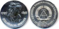 10 Mark 1972 DDR Heinrich Heine - Silber prägefrisch  34,00 EUR