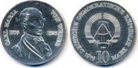 10 Mark 1976 DDR Carl Maria von Weber - Silber prägefrisch - minimal fl... 45,00 EUR