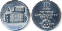 10 Mark 1986 DDR Charité Berlin - Silber prägefrisch  68,00 EUR