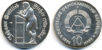 10 Mark 1990 DDR Johann Gottlieb Fichte - Silber prägefrisch/stempelgla... 72,00 EUR