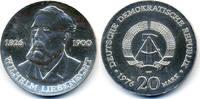 20 Mark 1976 DDR Wilhelm Liebknecht - Silber prägefrisch - winzige Krat... 49,00 EUR
