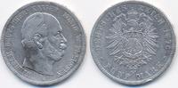 5 Mark 1876 C Preußen Wilhelm I. 1861-1888 schön+ - Randfehler  26,00 EUR