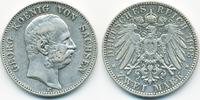 2 Mark 1903 E Sachsen Georg 1902-1904 gutes sehr schön  75,00 EUR