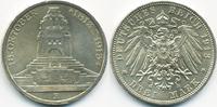 3 Mark 1913 E Sachsen Friedrich August III. 1904-1918 - Völkerschlachtd... 28,00 EUR
