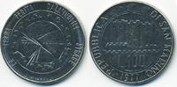 100 Lire 1977 San Marino - San Marino Republik - Globus vorzüglich  3,50 EUR