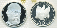 10 DM 1993 J BRD Robert Koch Polierte Platte/Proof  9,00 EUR  +  2,00 EUR shipping