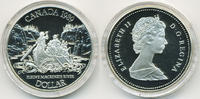 1 Dollar 1989 Kanada - Canada Mackenzie River Polierte Platte/Proof  11,00 EUR  zzgl. 1,20 EUR Versand