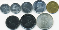Kursmünzensatz 1965 Vatikan - Vatican Paul VI. prägefrisch  34,00 EUR