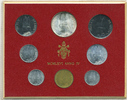 Kursmünzensatz 1966 Vatikan - Vatican Paul VI. prägefrisch  25,00 EUR  zzgl. 3,80 EUR Versand