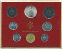 Kursmünzensatz 1973 Vatikan - Vatican Paul VI. prägefrisch  22,00 EUR