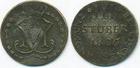 3 Stüber 1806 S Berg-Herzogtum Maximilian Joseph von Bayern 1799-1806 g... 25,00 EUR  +  6,50 EUR shipping