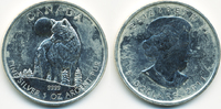 5 Dollar 2011 Kanada - Canada Kanada Wolf 2011 - 1. Ausgabe Silber 1 Oz... 19,90 EUR