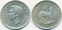 5 Shillings 1951 Südafrika - South Africa George VI. 1936-1952 sehr sch... 19,00 EUR  zzgl. 3,80 EUR Versand