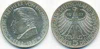 5,- DM 1957 G BRD Freiherr von Eichendorff fast prägefrisch  200,00 EUR  +  8,50 EUR shipping