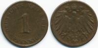 1 Pfennig 1916 Kaiserreich großer Adler – Kupfer – zu kleiner Schrötlin... 15,00 EUR  zzgl. 1,20 EUR Versand