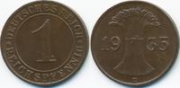 1 Reichspfennig 1935 D Weimarer Republik Kupfer - Verprägung gutes vorz... 12,00 EUR  zzgl. 1,20 EUR Versand
