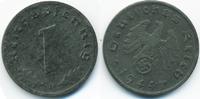 1 Reichspfennig 1944 D Drittes Reich Zink – Stempeldrehung vorzüglich  4,00 EUR  zzgl. 1,20 EUR Versand