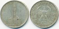 5 Reichsmark 1934 D Drittes Reich Garnisonskirche ohne Datum - Silber s... 10,00 EUR  zzgl. 1,20 EUR Versand