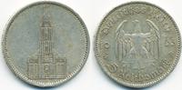 5 Reichsmark 1935 A Drittes Reich Garnisonskirche ohne Datum - Silber s... 9,50 EUR  zzgl. 1,20 EUR Versand