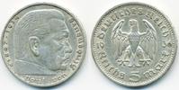 5 Reichsmark 1936 G Drittes Reich Hindenburg ohne Hk - Silber sehr schö... 11,00 EUR  +  2,00 EUR shipping