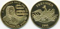 vergoldete Kupfer/Nickel Medaille 1991 BRD Johann Sebastian Bach prägef... 7,00 EUR  zzgl. 1,20 EUR Versand